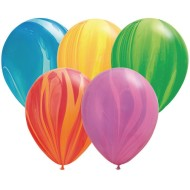 Rainbow Agate Balloons (Pack of 100)