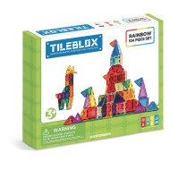 Magformers® Tileblox Rainbow 104 Piece Set