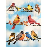 Blue Sky Birds 35-Piece Tray Puzzle