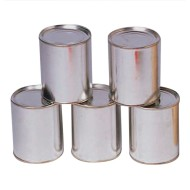 Knock Down Metal Cans (Pack of 12)
