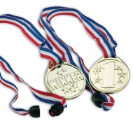 Award Medals with Breakaway Closure (Pack of 12)