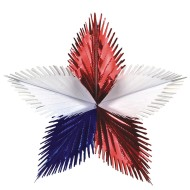 Patriotic Starburst (Pack of 12)