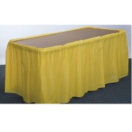 Plastic Table Skirt - 14'x29