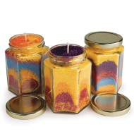 Wax Art Candle Craft Kit (Pack of 12)