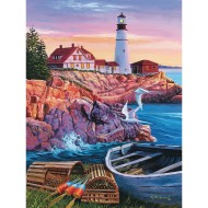 Lighthouse Cove Easy Handling Puzzle, 18