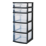 Sterilite® 5-Drawer Storage Tower