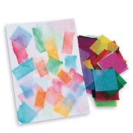 Spectra™ Bleeding Art Tissue Painting Squares