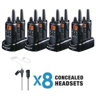2-Way Radio Bundle (Pack of 8)