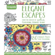 Crayola® Adult Coloring Book: Elegant Escapes