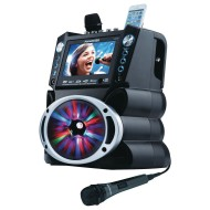 DVD / CDG / MP3G Karaoke System w/ Bluetooth and LED Lights