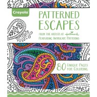Crayola® Adult Coloring Book: Patterned Escapes