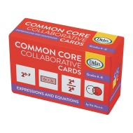 Common Core Collaborative Cards, Exponent Equations, Grades 6-8