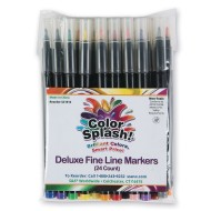 Color Splash!@ Deluxe Fine Line Markers