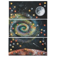 Galactic Space Triptych Collaborative Craft Kit