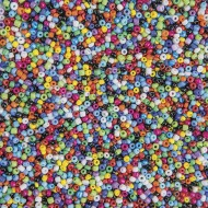 Glass Seed Beads 1/2-lb bag