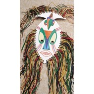African Mask Craft Kit (Pack of 9)