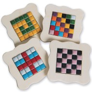 Tiny Tile Coasters Craft Kit (Pack of 16)