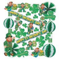 Flame Resistant St. Patrick's Day Decorating Kit (Kit of 1)