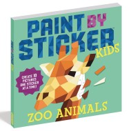 Paint by Sticker® Kids: Zoo Animals