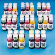Color Splash!® Assorted Washable Glitter Paint, 1 oz. (Pack of 48)