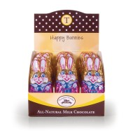 Chocolate Bunnies, 1 oz. (Box of 24)