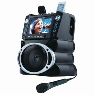 DVD/CDG/MP3G Karaoke System with 7