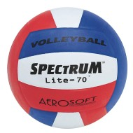 Spectrum™ Lite-70 Rubber Volleyball