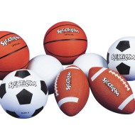 Spectrum™ Rubber Game Ball Easy Pack Intermediate