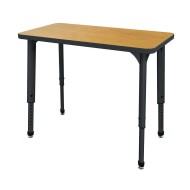 Marco™ Apex™ Adjustable Height Rectangle Desk