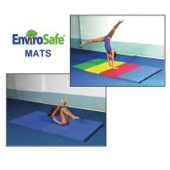 EnviroSafe® 4' x 8' Medium Firm Gym Mats