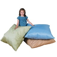 The Children's Factory Cozy Woodland Light Tone Floor Pillows (Set of 3)