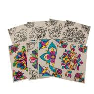 Color-Your-Own Stained Glass Window Clings