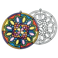 Sun Catcher Mandalas