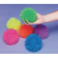 Large Puffer Balls, Assorted Colors (Set of 6)