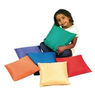 The Children's Factory® Bright Rainbow Throw Pillows (Set of 6)