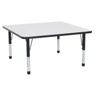 "Square Dry Erase Activity Table, 48"","