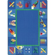 Joy Carpets Full STEAM Ahead™ Classroom Rug
