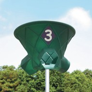 Triple Shoot Playground Basketball System, Green