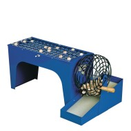 Speed-O-Matic Bingo Cage and Masterboard