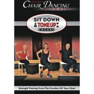 Chair Dancing Sit Down and Tone Up Encore DVD