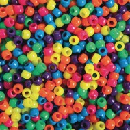 Color Splash!® Pony Bead Assortment, Neon