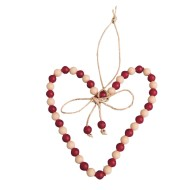 Heart Ornament Craft Kit (Pack of 48)