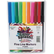 Color Splash!® Fine Line Markers (Pack of 10)