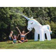 Ginormous Unicorn Inflatable Yard Sprinkler