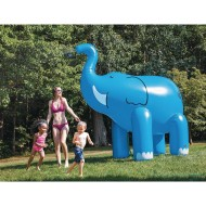 Ginormous Elephant Inflatable Yard Sprinkler