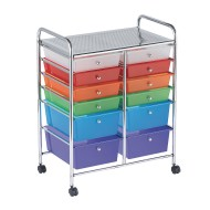 ECR4® Kids 12 Drawer Mobile Storage Organizer