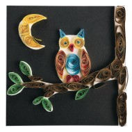 Paper Quilled Owl Craft Kit (Pack of 12)