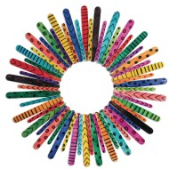 Craft Stick Wreath Craft Kit (Pack of 12)