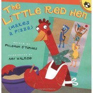 The Little Red Hen (Makes a Pizza) Book