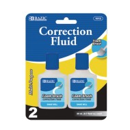 Correction Fluid with Foam Brush